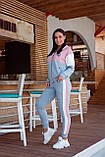 Спортивный костюм женский Турецкая двунитка Размер 48-50 52-54 Разные цвета, фото 9
