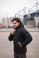 Куртка мужская зимняя черная Glacier Intruder