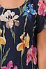 Летнее воздушное платье из креп-шифона с хлопковой подкладкой 52 по 58 размер, фото 10