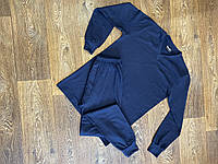 Мужской термокомплект синий Intruder + Баф в подарок