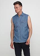Мужская рубашка Emmett М Синяя 7170329-М, КОД: 1477839