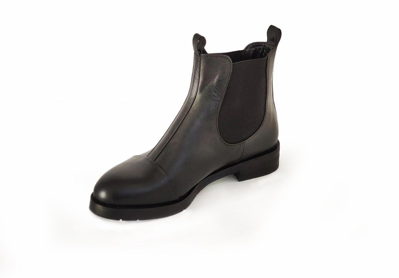 Ботинки LikeStar Амина-2\ размер 36-41\ натуральная кожа\ черный цвет. ( Женские ботинки ).