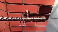 Карниз кованый  25 мм одинарный антик Севилия -3м