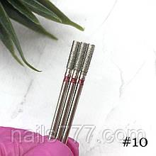 Насадка алмазная №10, красная