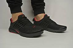 Чоловічі кросівки Nike Air Presto чорно-червоні