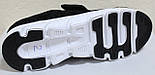 Кроссовки сетка черные мужские на липучке от производителя модель ЛМ100-3, фото 5