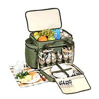 Набор для пикника на 6 персон Кемпинг HB6-520 с термо отделом