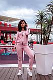 Спортивный костюм женский Трикотаж двунитка Размер 48 50 52 54  В наличии 6 цветов, фото 9