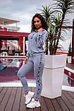 Спортивный костюм женский Трикотаж двунитка Размер 48 50 52 54  В наличии 6 цветов, фото 8