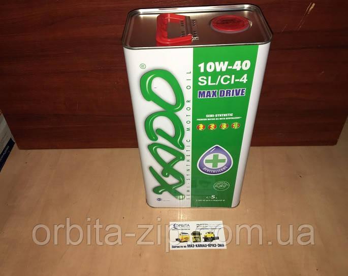 Масло моторное полусинтетическое XADO Atomic Oil 10W-40 SL/CI-4 (банка 5 литров)