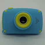 Детский цифровой фотоаппарат Smart Kids Cam TOY 9 PLUS Rabbit Blue, фото 8