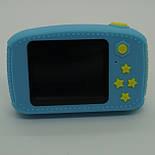 Детский цифровой фотоаппарат Smart Kids Cam TOY 9 PLUS Rabbit Blue, фото 5