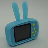Детский цифровой фотоаппарат Smart Kids Cam TOY 9 PLUS Rabbit Blue, фото 9