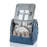 Набір для пікніка на 4 персони Кемпінг Family bag з термо відділом, фото 1