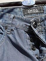 Мужские шорты бренда SMOG на пуговицах Размер наш 48 (У-143), фото 3