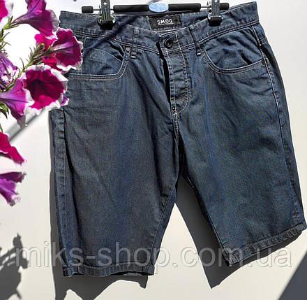 Мужские шорты бренда SMOG на пуговицах Размер наш 48 (У-143), фото 2