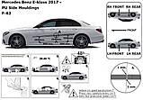 Молдинги на двері для Mercedes-Benz E-class W213 2016+, фото 6