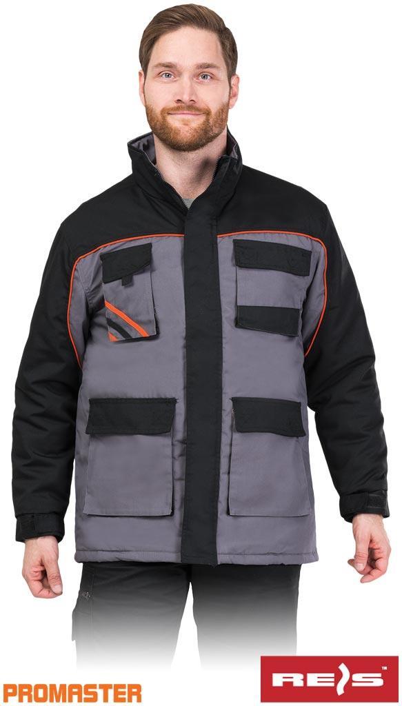 Куртка рабочая зимняя длинная REIS Польша (спецодежда утепленная) PRO-WIN-LJ SBP
