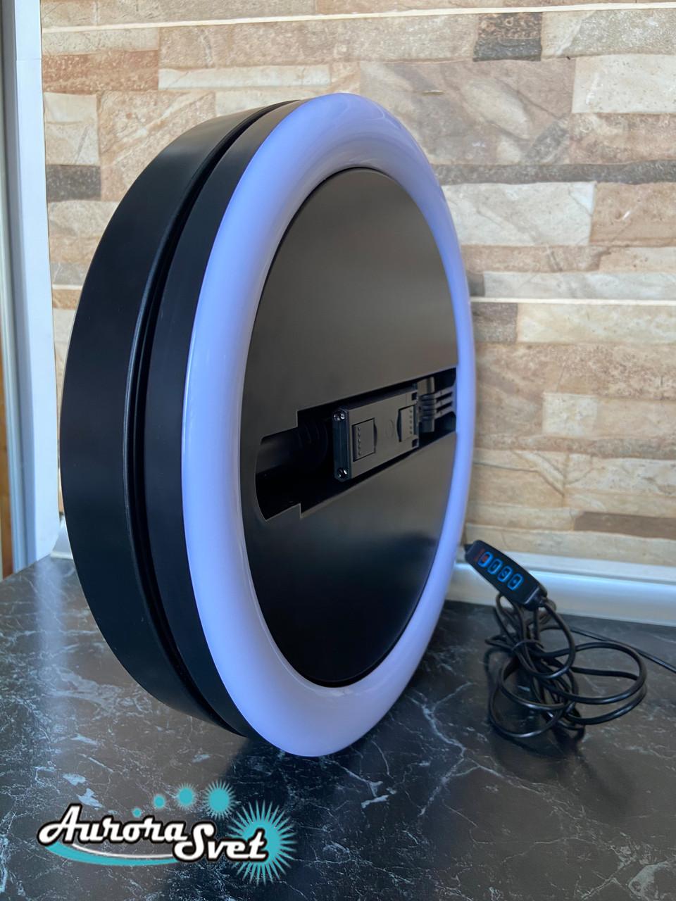 Кольцевая лампа 30 см. штатив в комплекте.150 диодов,20 ватт.