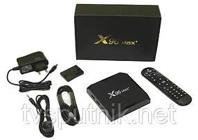 Smart TV приставкаX96 MAX+ 4/64 (S905X3, 4/64G, Android 9.0, Bluetooth, 4K/8K)