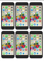 Вафельная картинка Телефоны и планшеты 8