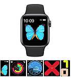 Смарт часы T500 Black в стиле Apple Watch (Smart Watch) Умные часы Фитнес браслет Фитнес трекер, фото 2