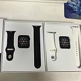 Смарт часы T500 Black в стиле Apple Watch (Smart Watch) Умные часы Фитнес браслет Фитнес трекер, фото 5