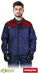 Куртка качественная рабочая мужская темно-синяя REIS Польша (спецодежда для тяжелой промышленности ) BF GDC