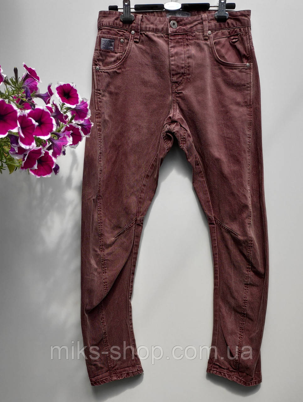 Мужские фирменные джинсы jacksjones размер наш 44 (У -37)