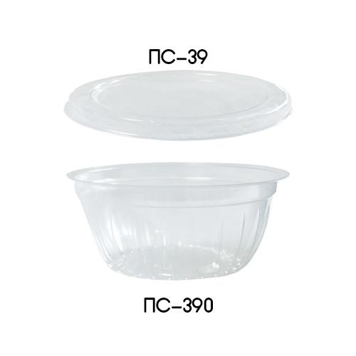 Одноразовый контейнер ПС-390 Дно для соусов и приправ - 50 мл, 20 шт.