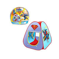 Палатка 889-33A Superman, палатка детская,палатки детские игровые,детские палатки домики,палатка