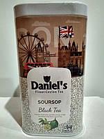 Чай черный с саусепом Daniel's Soursop 100г в подарочной упаковке