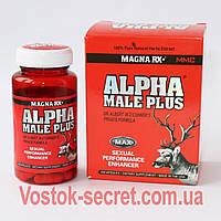 Alpha Male Plus (Альфа Самец)   Препарат для потенции, 60 капсул, фото 1