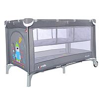 Детский манеж-кровать CARRELLO Piccolo CRL-9201/2 с вторым дном, разные цвета