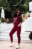 Літній костюм жіночий Турецька двонитка та сітка Розмір 48 50 52 54 Різні кольори, фото 9