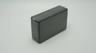 Блок для йоги, растяжки (Черный)
