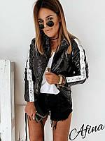 """Куртка жіноча демісезонна полубатальная, розміри 52-54 (2цв) """"AFINA"""" купити недорого від прямого постачальника"""