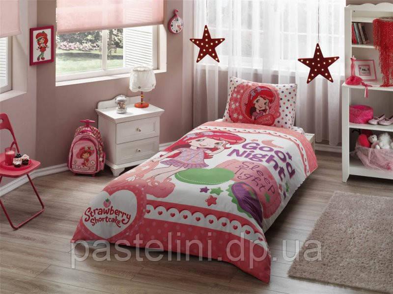 TAC Детское постельное бельё Disney  Strawberry  Shortcake Good Night