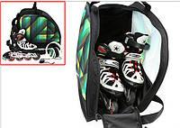 Спортивная сумка для роликов. Спортивная сумка для коньков. Дорожная сумка. Сумка водонепроницаемая. Код: КЮ10