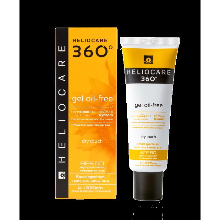 Солнцезащитный гель на водной основе с SPF 50+ для нормальной и жирной кожи Cantabria Labs Heliocare
