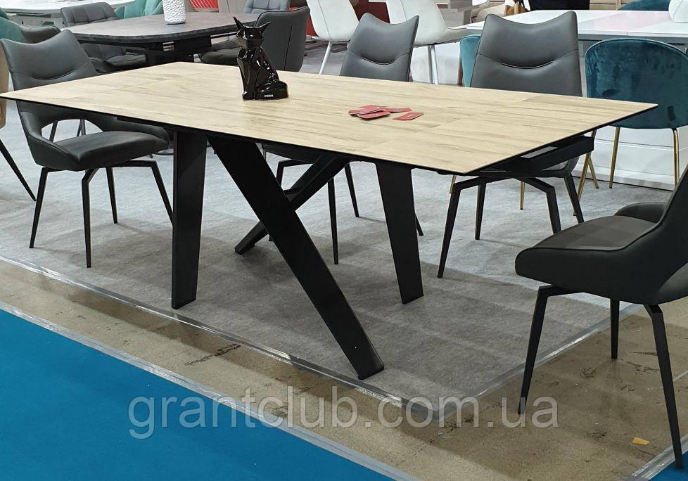 Стол обеденный раскладной TML- 810 стеклокерамика вествуд 160/240*90 (бесплатная доставка)