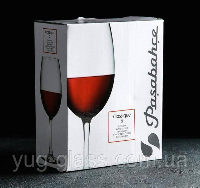 Большие бокалі для вина