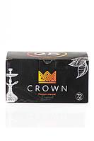 Кокосовый уголь для кальяна Crown (кубик 25 мм), 1кг