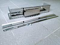 Гребёнка универсальная для укладки плитки нержавеющая сталь зуб 10x10 мм+дополнительная вставка зуб 10x10мм