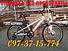 ✅ Подростковый скоростной велосипед Crosser Sky GFRD 20 Дюймов Серо-Салатовый, фото 2