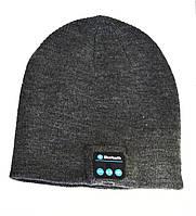 Шапка с Bluetooth 3.0 гарнитурой (Music Hat)Grey