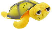 Музыкальная черепаха проектор ночного неба Sparkling Turtle Yellow (6854)