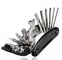 Мультитул набор ключей для велосипеда 16в1