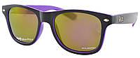 Солнцезащитные очки Ray Ban Wayfarer Polarized поляризованные RB9239 Violet (реплика)