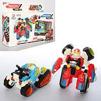 Трансформер 675I 2 шт., робот + квадроцикл, кор., 30,5-23,5-8 см.